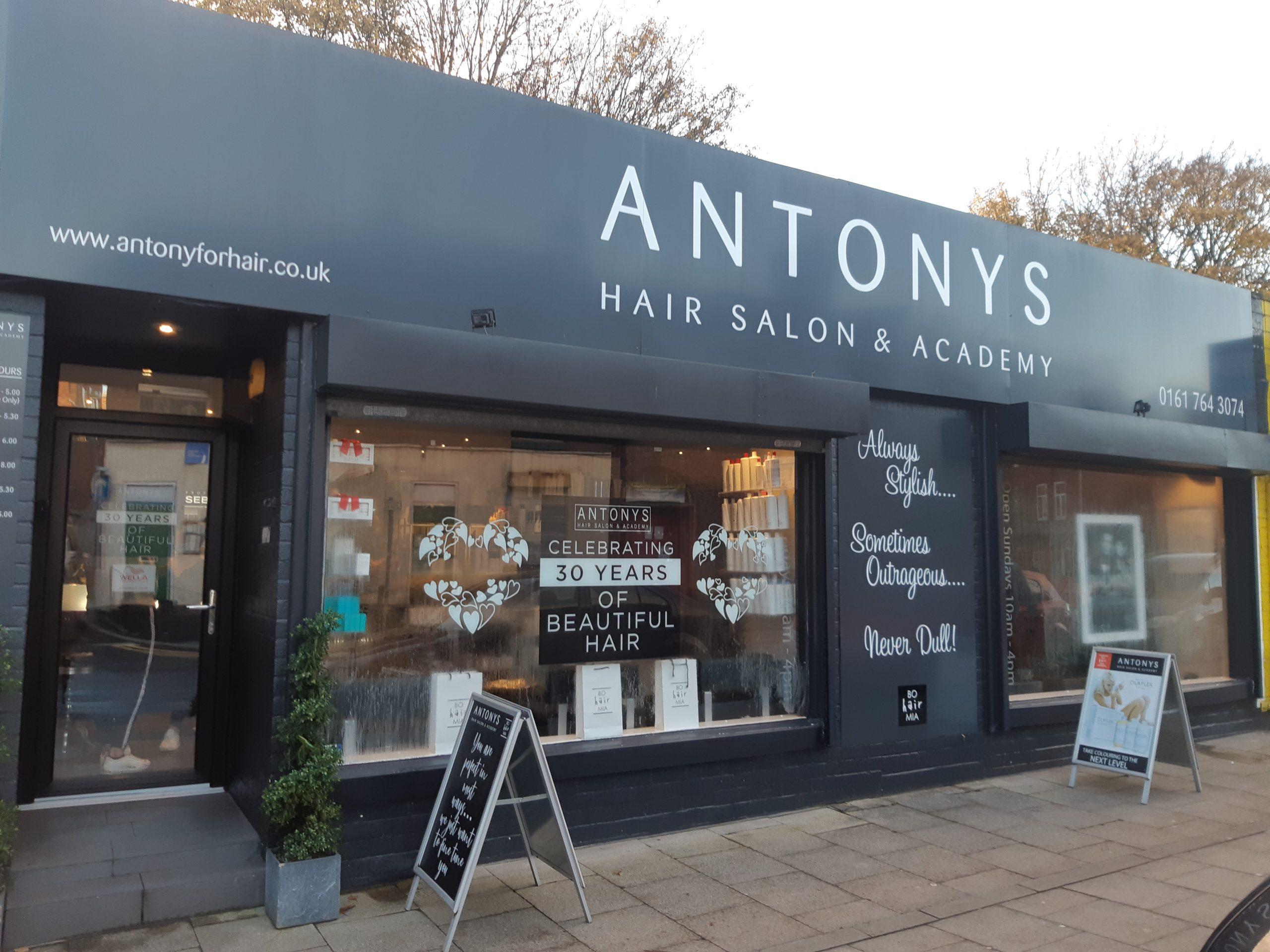 Business Spotlight: Celebrating 30 years with Antonys Hair Salon & Academy