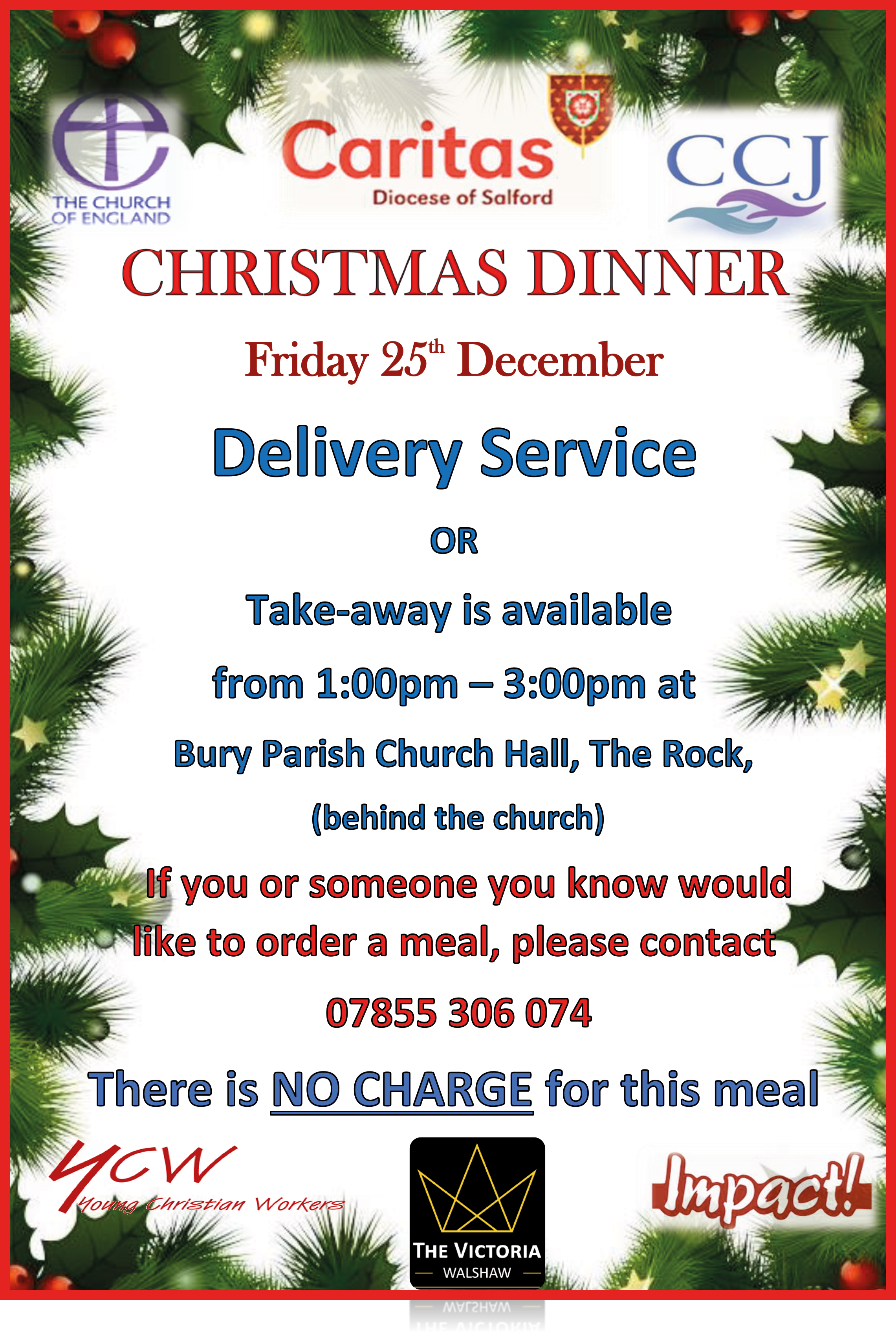 Christmas Dinner For Those In Need