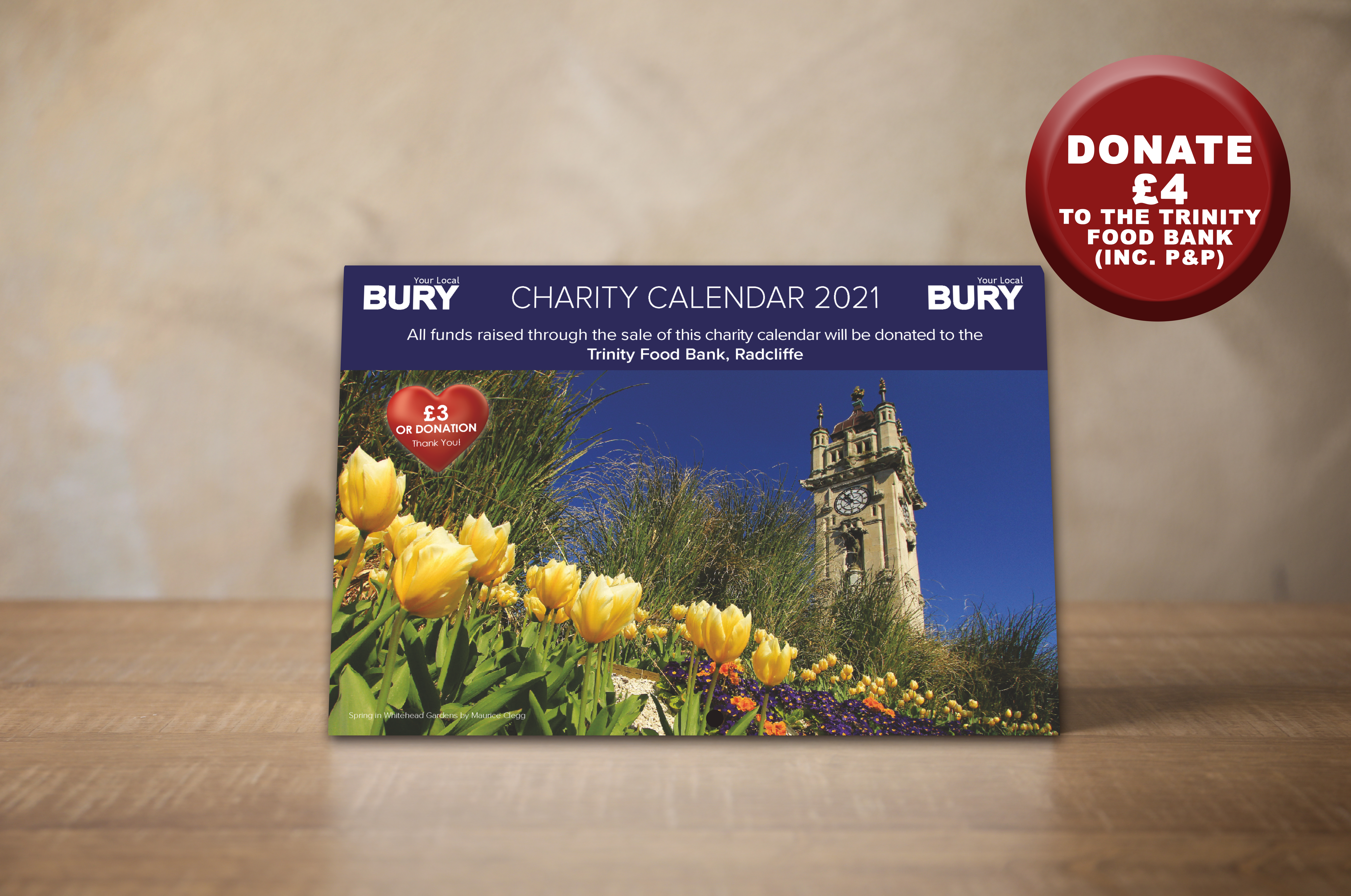 2021 Charity Calendar To Help Your Local Food Bank This Christmas