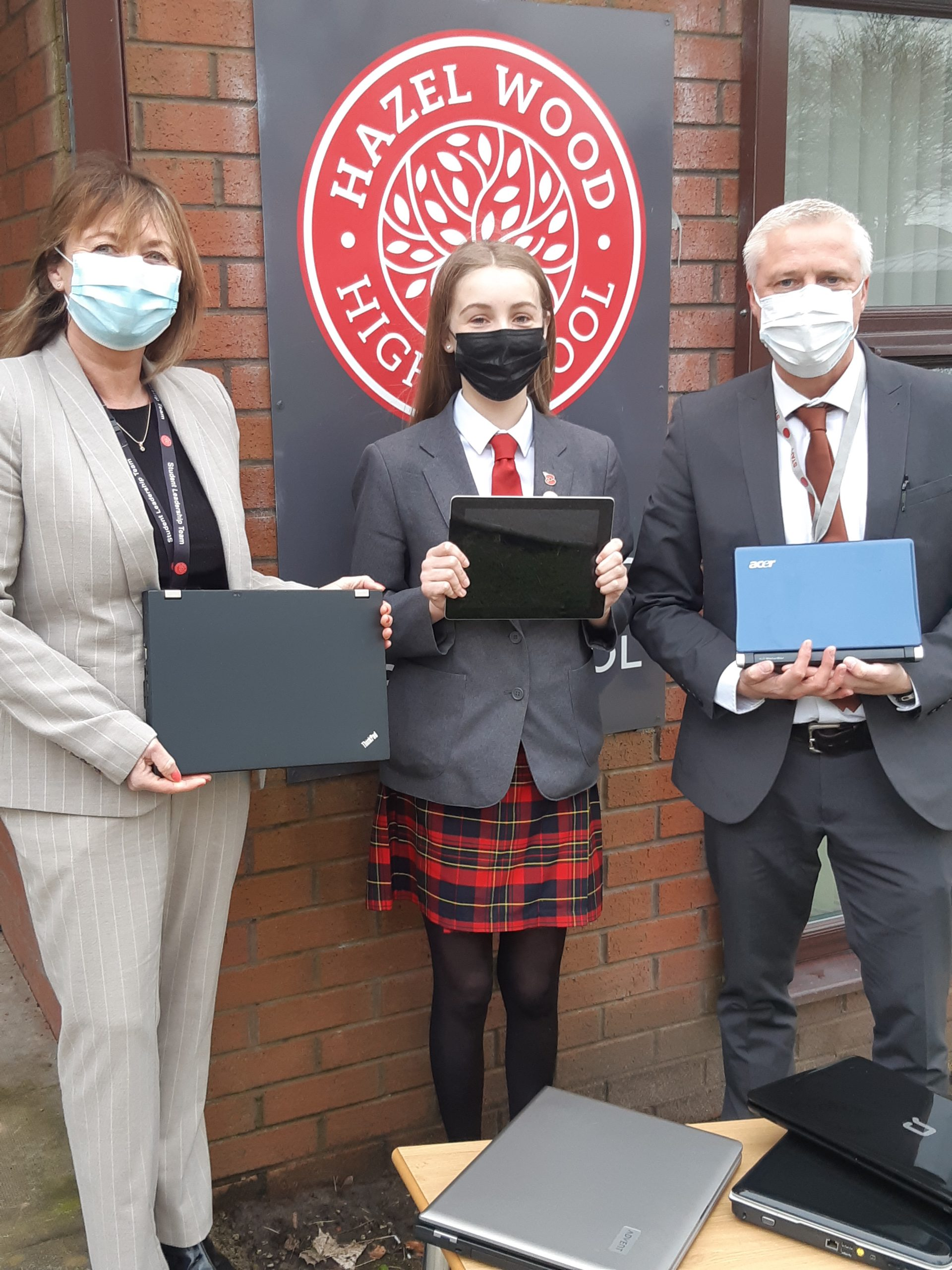 Laptops Donated To Local School