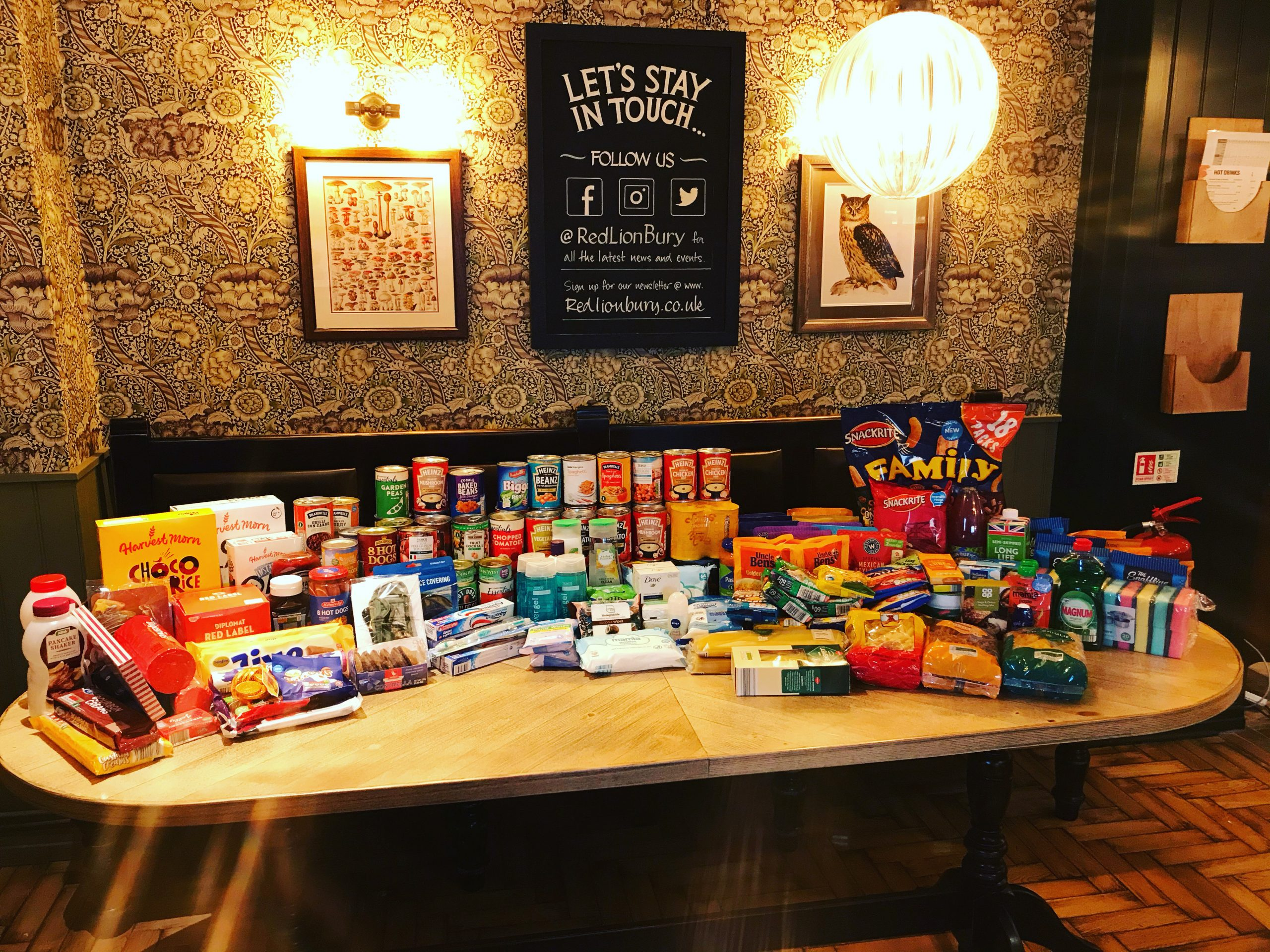 Popular Pubs Run For Local Pantry