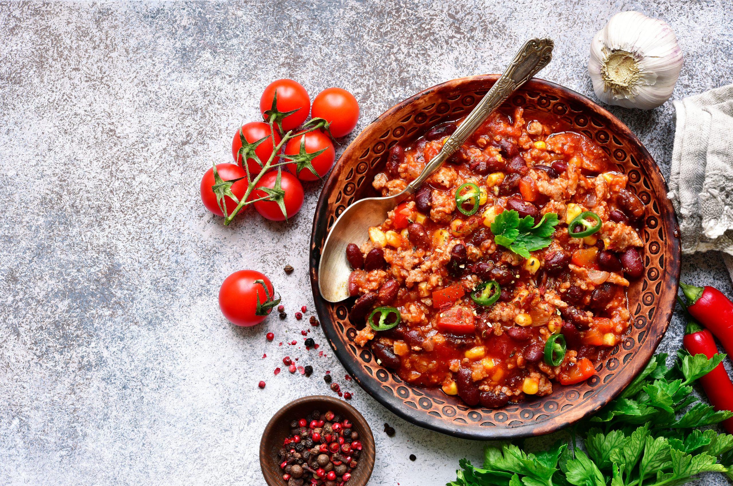 Recipe: Super Speedy Chilli