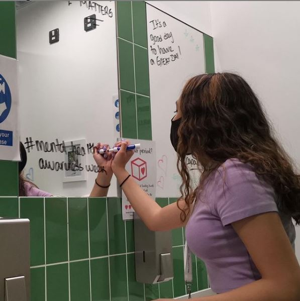 Students Take Part In Mental Health Awareness