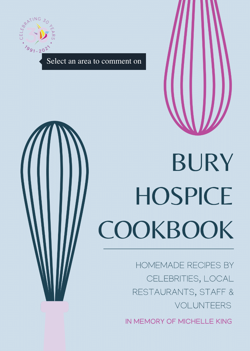 Cook Book To Celebrate 30 Years