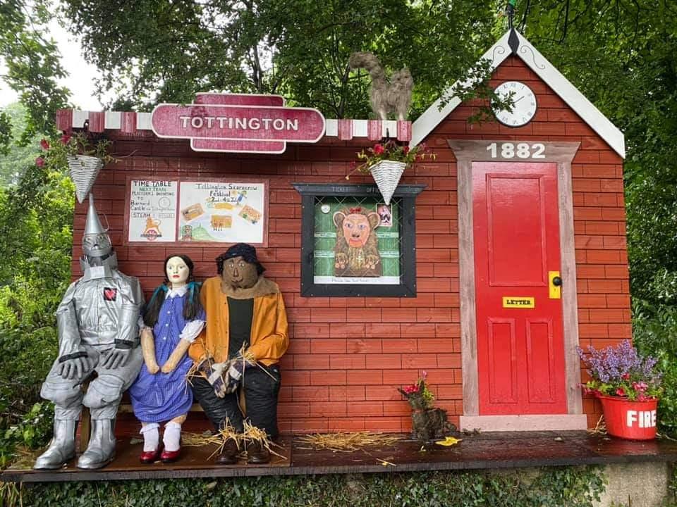Tottington Scarecrow Festival