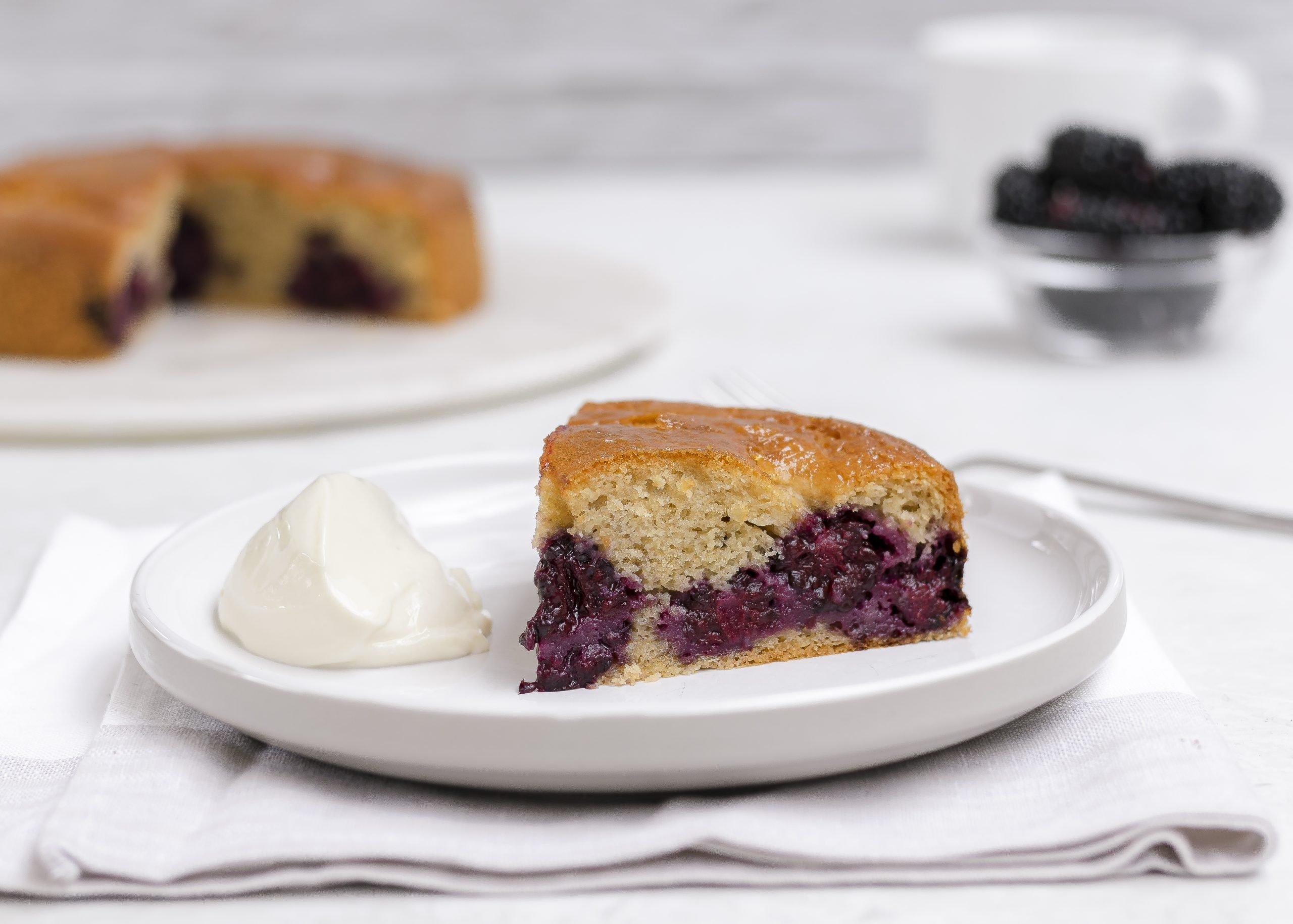 Blackberry Cake – Gluten Free