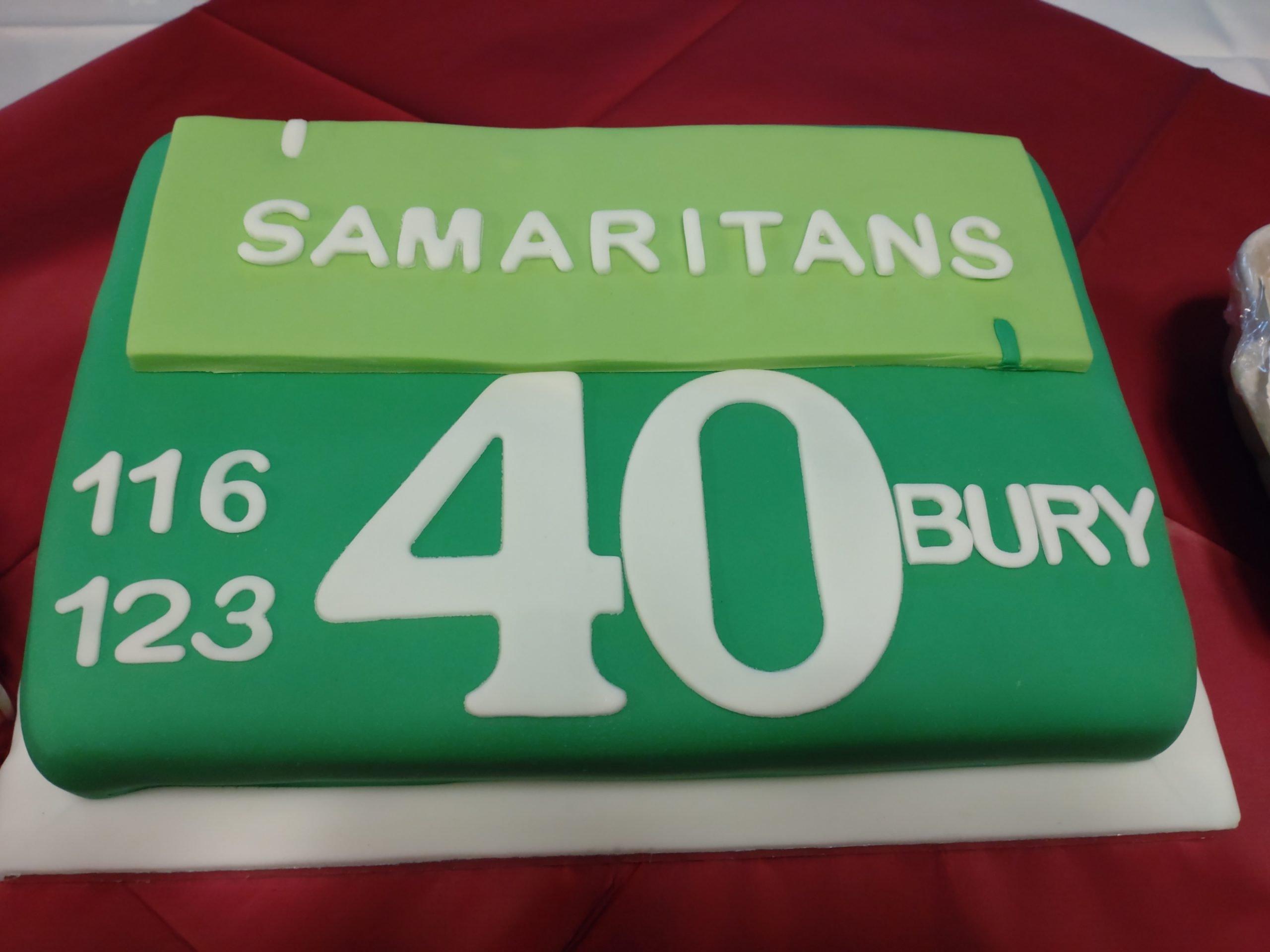 Samaritans Celebrates 40 years in Bury