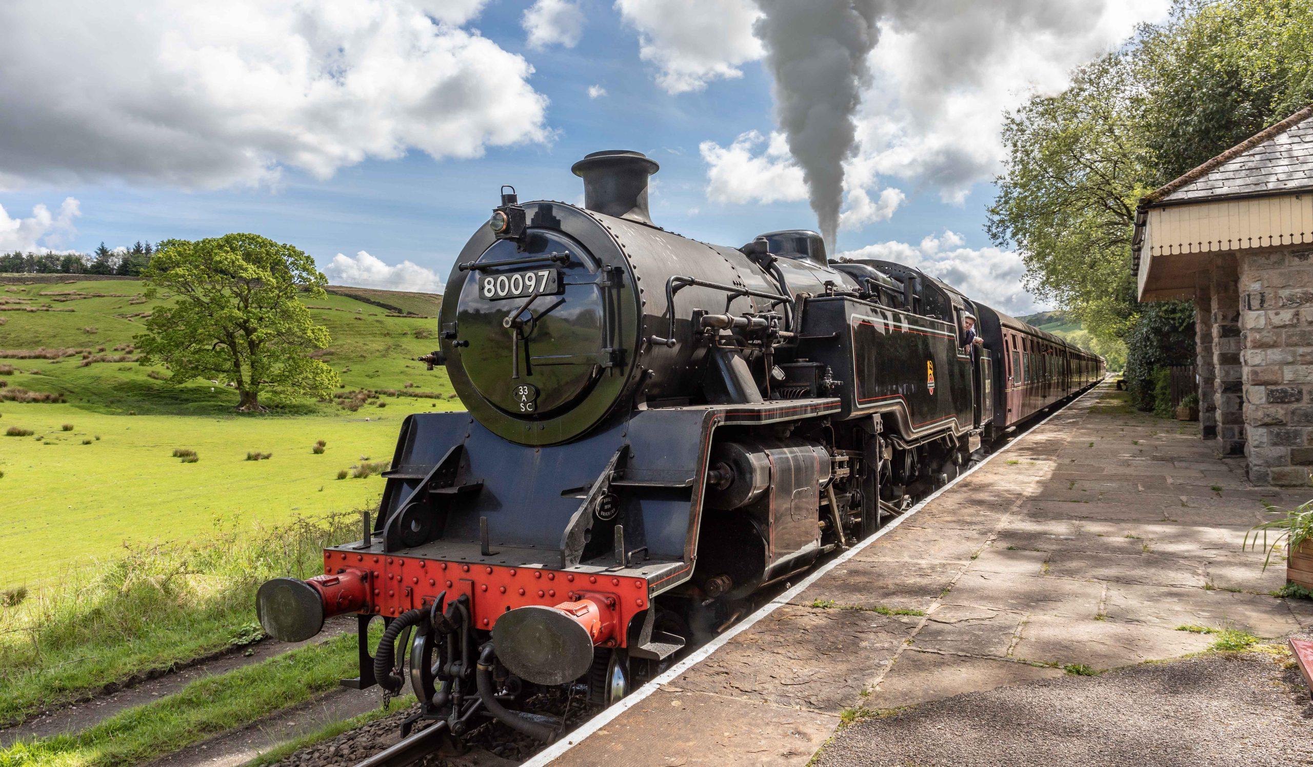 Steam Train To Ramsbottom
