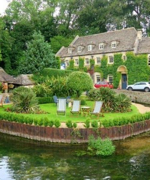 Pretty little village of Bibury - by Zena Knowles - iphone